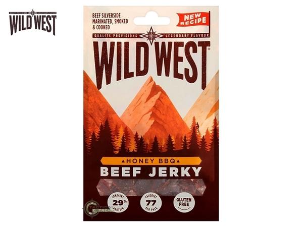 Picture of Αφυδατωμένο Βοδινό Κρέας Wild West Beef Jerky Honey BBQ 70γρ