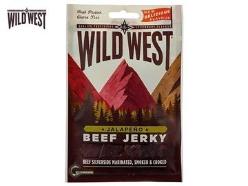Εικόνα της Αφυδατωμένο Βοδινό Κρέας Wild West Beef Jerky Jalapeno 70γρ