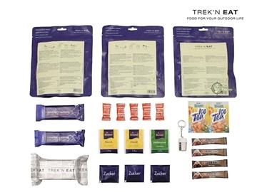 Εικόνα της Trek'n Eat Daily Ration Type V Ριζότο Σόγιας - Λαχανικών Και Ραγού Μανιταριών Με Σόγια Και Noodles