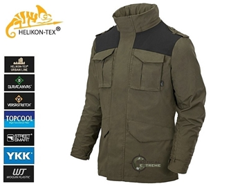 Εικόνα της Helikon Covert M-65 Jacket Taiga Green Black A