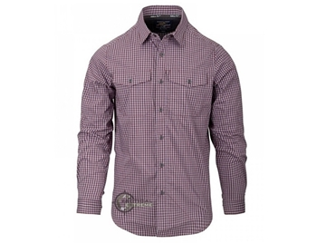 Εικόνα της Πουκάμισο Helikon Covert Concealed Carry Shirt Scarlet Flame Checkered
