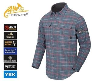 Εικόνα της Πουκάμισο Helikon GreyMan Shirt Graphite Plaid