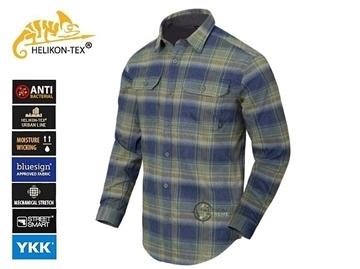 Εικόνα της Πουκάμισο Helikon GreyMan Shirt Blast Blue Plaid