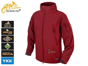 Εικόνα της Helikon Gunfighter Jacket Shark Skin Windblocker Crimson Sky