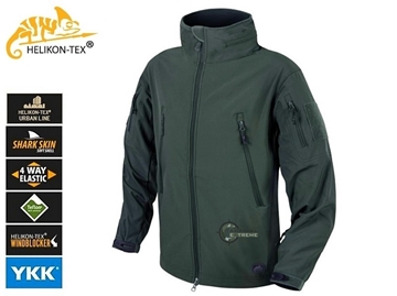 Εικόνα της Helikon Gunfighter Jacket Shark Skin Windblocker Jungle Green
