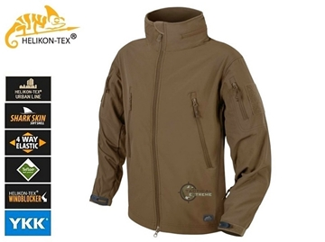 Εικόνα της Helikon Gunfighter Jacket Shark Skin Windblocker Mud Brown