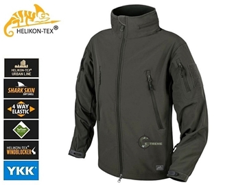 Εικόνα της Helikon Gunfighter Jacket Shark Skin Windblocker Ash Grey