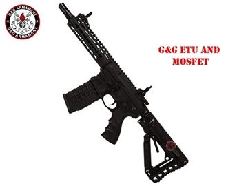 Εικόνα της Airsoft Τυφέκιο Εφόδου G&G Armament CM16 SRS AEG Μαύρο