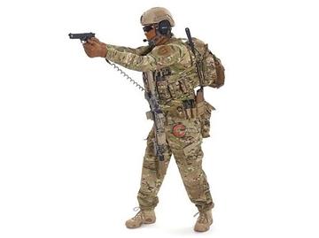 Εικόνα της Σπιράλ Καλώδιο Συγκράτησης Όπλου MFH Χακί