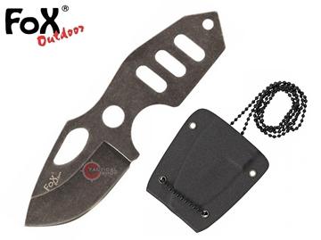 Εικόνα της Μαχαίρι Λαιμού Fox Outdoor Neck I Skeleton Shaped Knife