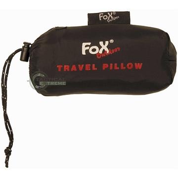 Εικόνα της Αυτοφούσκωτο Μαξιλάρι Travel Pillow Μαύρο