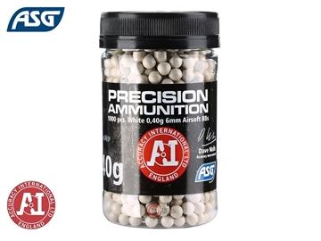 Εικόνα της Μπίλιες Για Airsoft ASG Precision Ammunition BBs 0.40gr 1000pcs