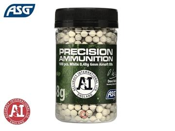 Εικόνα της Μπίλιες Για Airsoft ASG Precision Ammunition BBs 0.48gr 1000pcs