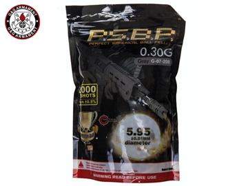 Εικόνα της Μπίλιες Για Airsoft G&G P.S.B.P. Competition Grade 6mm 0.30gr 2000pcs Γκρι