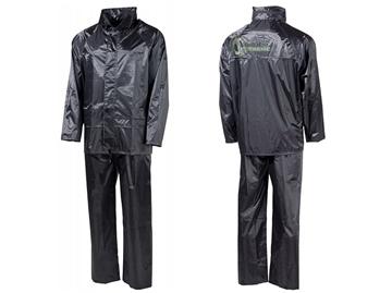 Εικόνα της Αδιάβροχο Μπουφάν Παντελόνι Σετ Μαύρο Rain Suit MFH