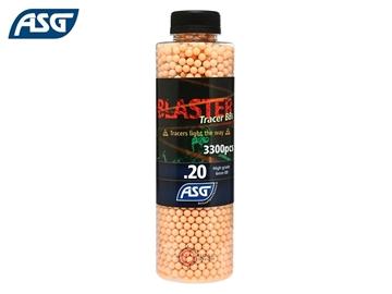 Εικόνα της Φωσφορίζουσες Μπίλιες Για Airsoft ASG Blaster Tracer High Grade BBs 0.20g 3.300pcs Κόκκινες