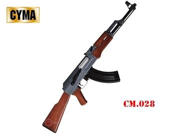 Εικόνα της Airsoft Τυφέκιο Cyma AK47 Full Metal / Απομίμηση Ξύλου AEG 6mm