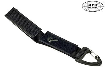 Εικόνα της Πρακτικό Ιμαντάκι με Carabiner Universal Holder Μαύρο