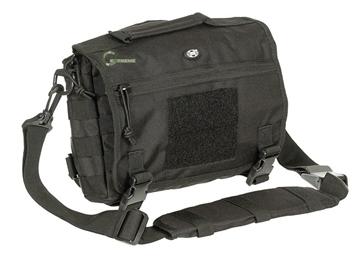 Εικόνα της Σακίδιο Τσάντα Shoulder Bag Small Molle Μαύρο