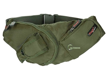 Εικόνα της Τσαντάκι Πολλαπλών Χρήσεων Waist Bag Λαδί