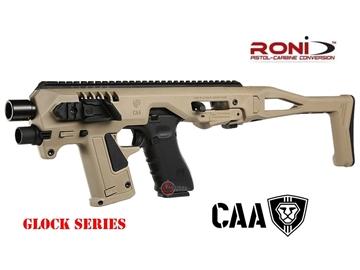 Εικόνα της Κιτ Μετατροπής Πιστολιού Glock CAA Airsoft Division Micro RONI G3 Kit G-Series 6mm FDE
