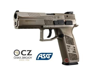 Εικόνα της Πιστόλι Airsoft Αερίου ASG CZ P-09 GBB 6mm FDE