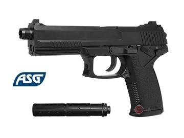 Εικόνα της Πιστόλι Airsoft Αερίου ASG MK23 Special Operation NBB 6mm Μαύρο