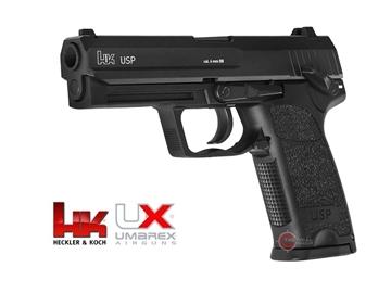 Εικόνα της Πιστόλι Airsoft Αμπούλας Umarex H&K USP Full Metal Co2 BlowBack 6mm