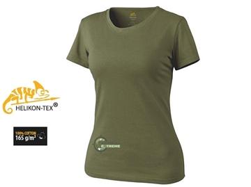 Εικόνα της Γυναικείο T-Shirt Βαμβακερό Olive Green Helikon