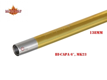 Εικόνα της Εσωτερική Κάννη Maple Leaf Crazy Jet 6,04 mm / 138mm για Airsoft Πιστόλια Hi-capa 6″/MK23