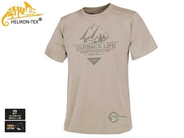 Εικόνα της Μπλουζάκι T-Shirt Outback Life Μπεζ