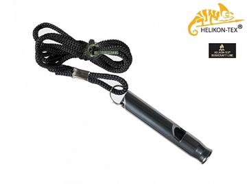Εικόνα της Σφυρίχτρα Survival Whistle Aluminum Μαύρη
