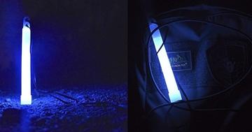 """Εικόνα της Μπλέ Χημικό Φως Lightstick 6"""""""