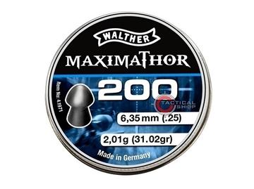 Εικόνα της Βλήματα Walther MaximaThor 6.35 mm