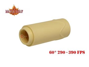 Εικόνα της Λαστιχάκι Maple Leaf Super Macaron AEG Bucking 60° Κίτρινο
