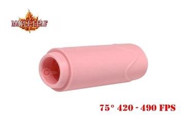 Εικόνα της Λαστιχάκι Maple Leaf Super Macaron AEG Bucking 75° Ροζ