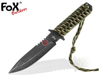Εικόνα της Μαχαίρι Stonewashed Blade Paracord Gamo Λαβή