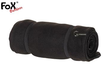 Εικόνα της Υπνόσακος Κουβέρτα Sleeping Bag Fleece Μαύρος 200 x 80 cm