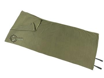 Εικόνα της Υπνόσακος Κουβέρτα Sleeping Bag Fleece Λαδί 200 x 80 cm