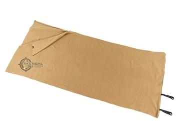 Εικόνα της Υπνόσακος Κουβέρτα Sleeping Bag Fleece Coyote 200 x 80 cm