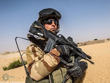Εικόνα της Bolle Combat Tactical Goggles Kit Black