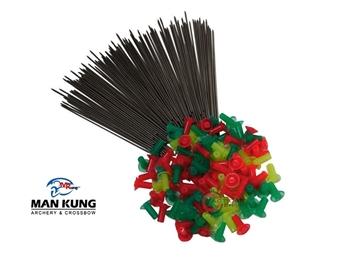 Εικόνα της Βελάκια Για Φυσοκάλαμο Man Kung 100pcs