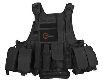 Εικόνα της Ranger Tactical Vest With Integrated Hydration System Black