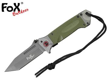 Εικόνα της Σουγιάς Jack Knife One Handed G10 Λαβή Χακί