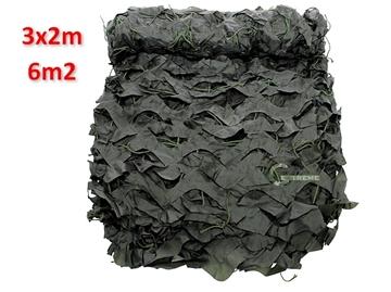 Εικόνα της Δίχτυ Σκίασης & Καμουφλάζ Λαδί Basic 3x2m