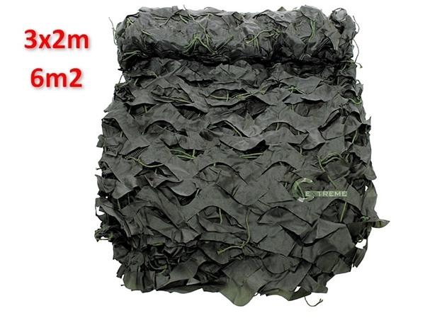 Picture of Δίχτυ Σκίασης & Καμουφλάζ Λαδί Basic 3x2m