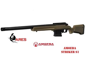 Εικόνα της Τουφέκι Ελατηρίου Ares Amoeba Striker S1 Bolt Action Sniper Rifle 6mm BB FDE