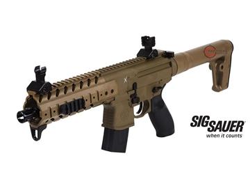 Εικόνα της Αεροβόλο Οπλοπολυβόλο Sig Sauer MPX 4.5mm Pellet FDE
