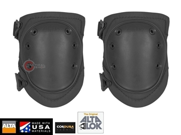 Εικόνα της Επιγονατίδες AltaFlex Flexible Cap Tactical Knee Pads Black