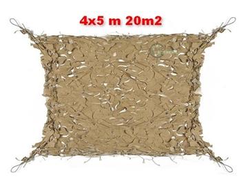 Εικόνα της Coyote Δίχτυα Σκίασης 4x5 m με αρτάνι και συρματόσκοινο περιμετρικά